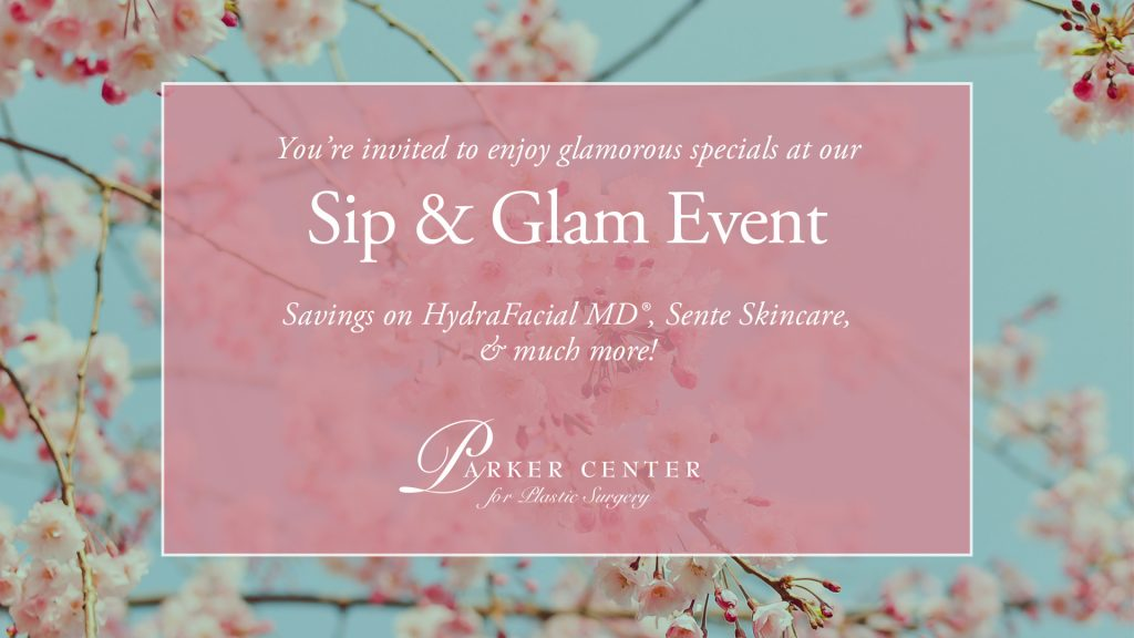 Sip & Glam Event at Parker Center in Paramus NJ