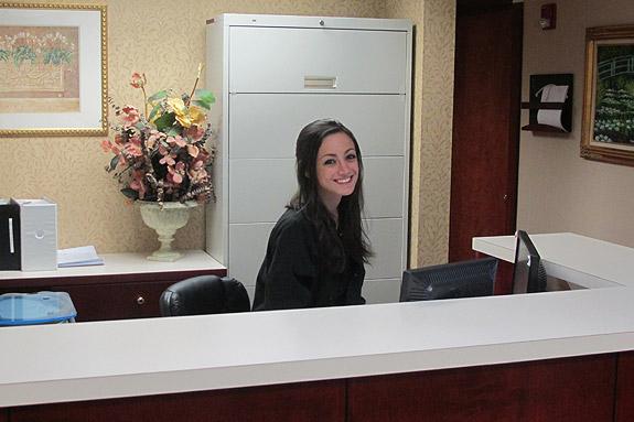 Front Desk at the Parker Center